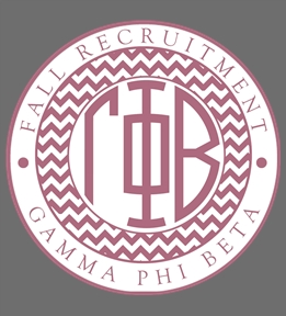Custom Gamma Phi Beta | Design Online at UberPrints.com