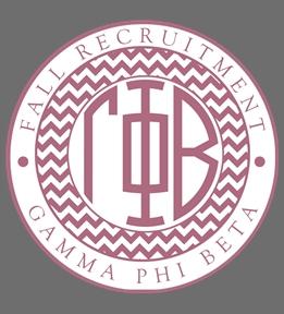Custom Gamma Phi Beta | Design Online at UberPrints.com