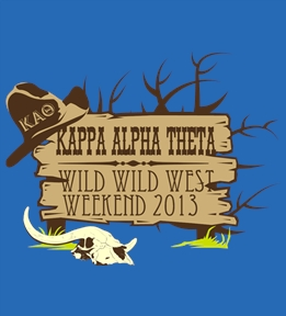 Kappa Alpha Theta t-shirt design 88