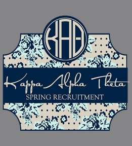 Kappa Alpha Theta t-shirt design 5