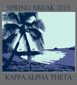 Kappa Alpha Theta t-shirt design 1