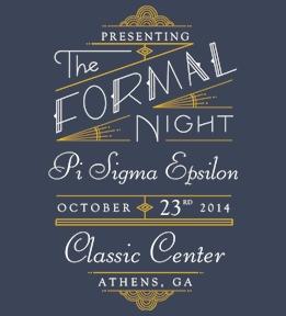 Pi Sigma Epsilon Shirts - Design Online at Uberprints.com