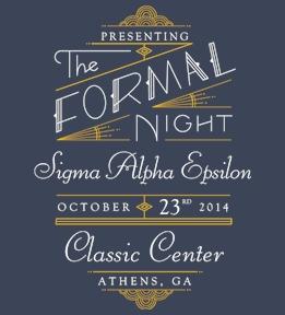 Custom Sigma Alpha Epsilon Shirts - Design Online at Uberprints.com