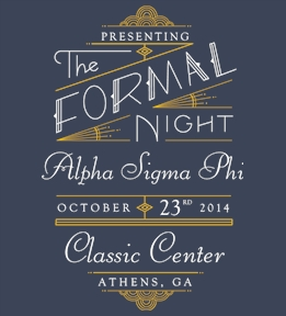 Alpha Sigma Phi   Shirts - Design Online at Uberprints.com
