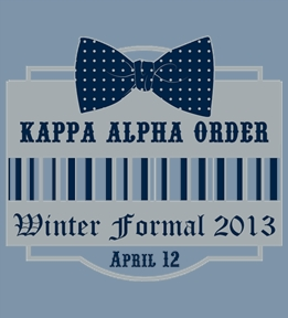Kappa Alpha Order Shirts - Design Online at Uberprints.com