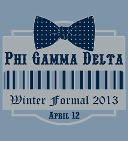 Phi Gamma Delta - Design Online at Uberprints.com