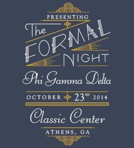Phi Gamma Delta - Design Online at Uberprints.com