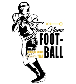 Football T-Shirt Design Ideas and Templates