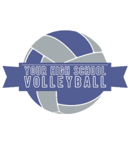 Volleyball t-shirt design 26