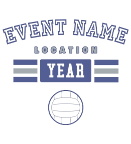 Volleyball t-shirt design 10