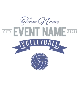 Volleyball t-shirt design 13