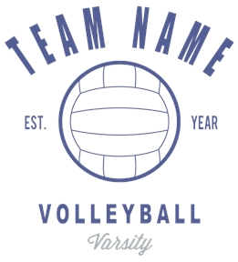 Volleyball t-shirt design 21