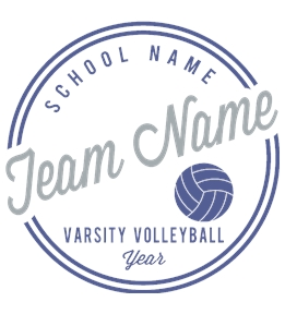 Volleyball t-shirt design 18