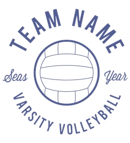 Volleyball t-shirt design 15