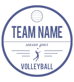 Volleyball t-shirt design 14