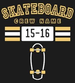 Create Custom Skateboarding Tees