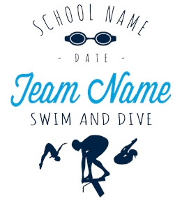 Design Custom Swimming T-Shirts