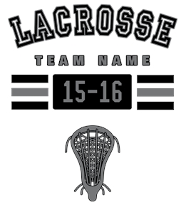 Lacrosse t-shirt design 1
