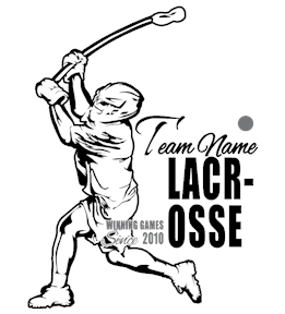 Lacrosse t-shirt design 13