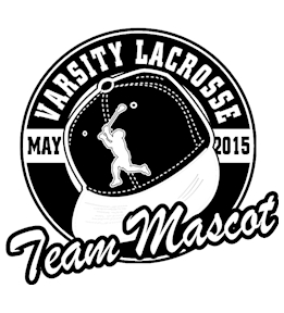 Lacrosse t-shirt design 9