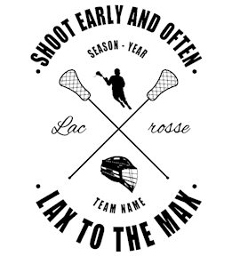 Lacrosse t-shirt design 3