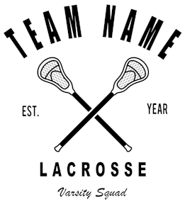 Lacrosse t-shirt design 19