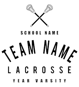 Lacrosse t-shirt design 18