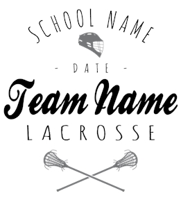 Lacrosse t-shirt design 21