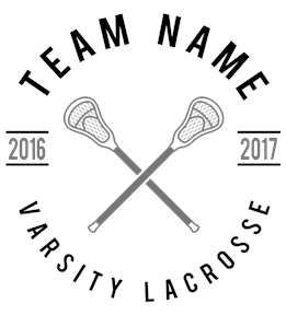 Lacrosse t-shirt design 16