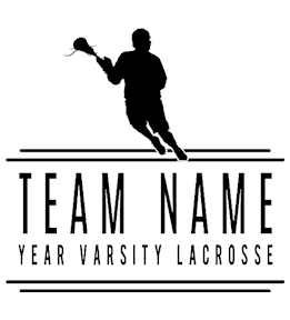 Lacrosse t-shirt design 15