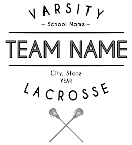 Lacrosse t-shirt design 25