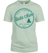 Custom Yoga T-Shirts | Creat Online at UberPrints
