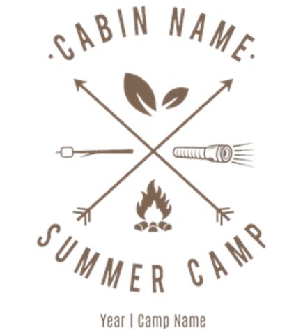 Summer Camp T-Shirt Design Ideas and Templates