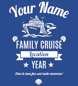 Family Vacation t-shirt design 26