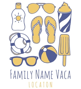 Family Vacation t-shirt design 23