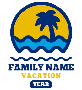 Family Vacation t-shirt design 17
