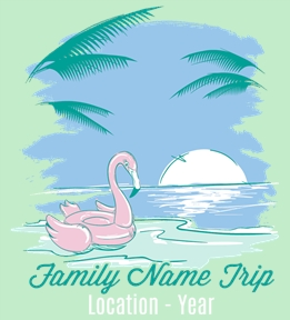 Family Vacation t-shirt design 24