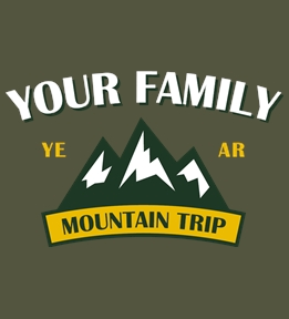 Family Vacation t-shirt design 47