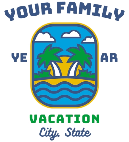 Family Vacation t-shirt design 13