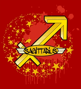 Create Custom Sagittarius T-Shirts | Design Online at UberPrints