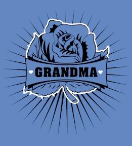 Create Custom Grandma T-Shirts | Design Online at UberPrints