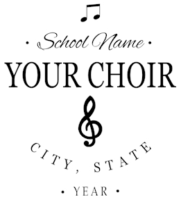 Choir t-shirt design 6