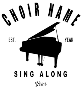 Choir t-shirt design 5