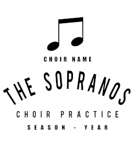 Choir t-shirt design 4