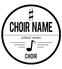 Choir t-shirt design 3