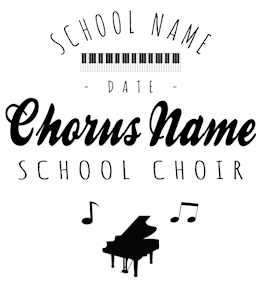 Choir t-shirt design 1