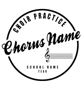 Choir t-shirt design 2