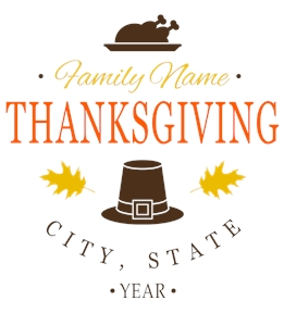 Thanksgiving t-shirt design 6