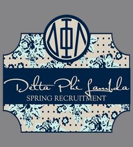 Delta Phi Lambda T-Shirts | Design Online at UberPrints