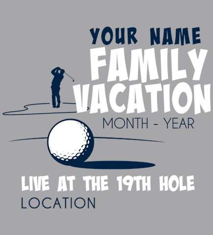 Family Vacation t-shirt design 54